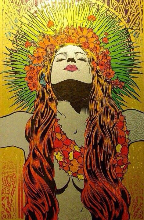 Hippie // Mary-Jane // draw