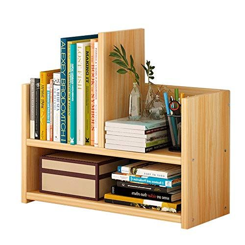Lsx Simple Modern Creative Desktop Small Bookshelf Student Floor Small Bookshelf 43x17x39cm Three Colors C Small Bookcase Solid Wood Bookshelf Small Bookshelf