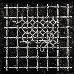 Šitá krajka: Výšivka na síti