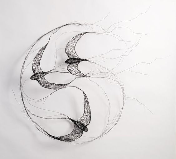 Celia Smith wire sculpture
