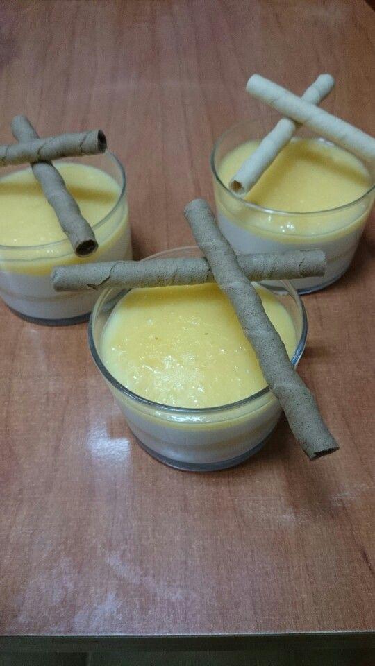 Tarta de queso con crema de limón (lemon curd)