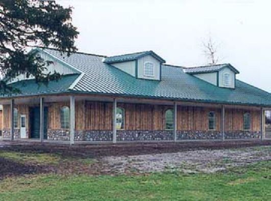 the craftsman house plan: a small timber frame home - post and