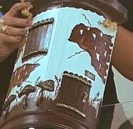 ARTESANATO FOFO: Pintura em telhas: Clay House, Cute Crafts, Con Relieves, Do You, Casas Fachadas Cuadros Con