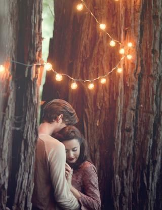 so romantic - i want a picture like this :)