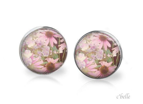 Ohrstecker+Blumen+-+flower+12+von+c'belle+auf+DaWanda.com