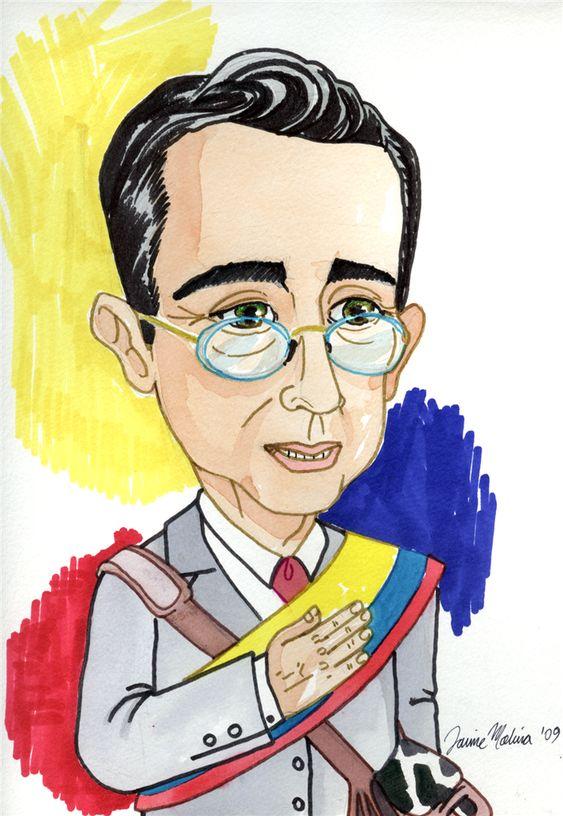 Álvaro Uribe by Mónica Soler