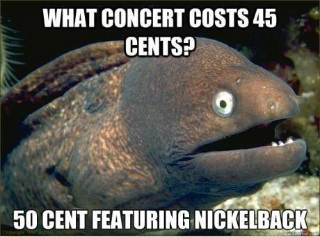 Bad joke eel!