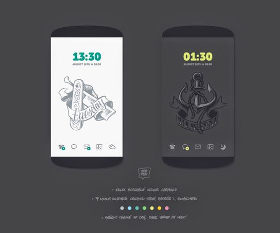 Theme Republic: Chameleon by tatosXL