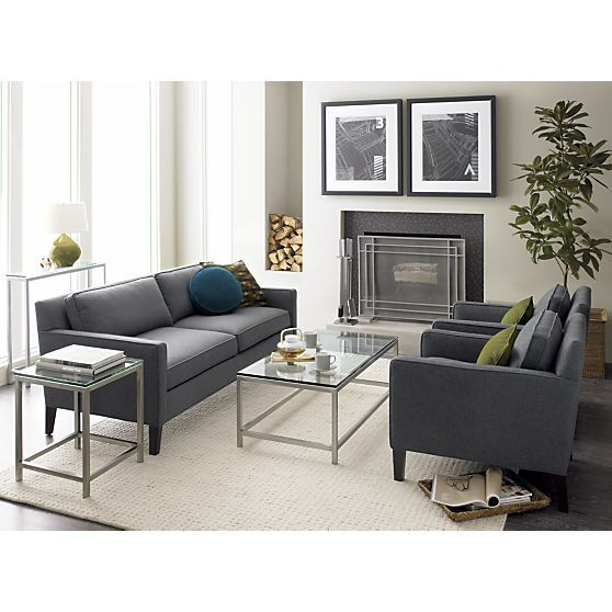 Era Rectangular Coffee Table In Side, Coffee Tables | Crate And Barrel |  Furnishings | Pinterest | Crates, Barrels And Living Rooms