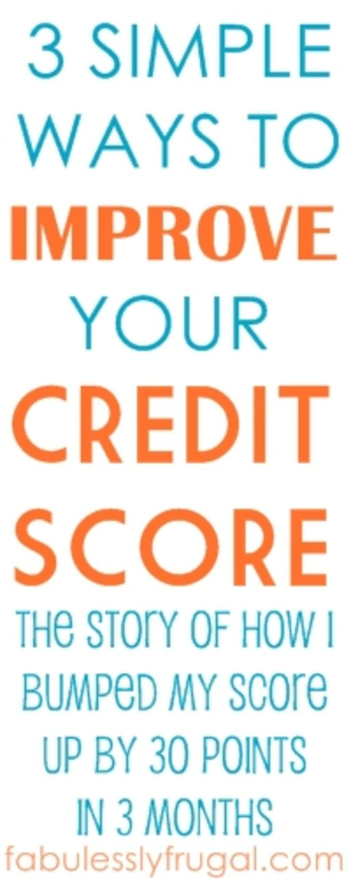 Need to work on your credit score?  Check this out!