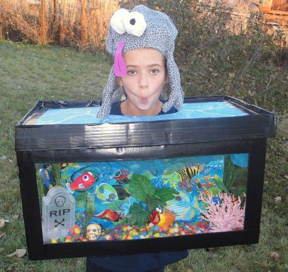 aquarium kostüm