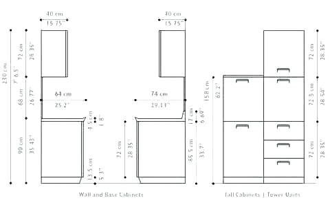 Standard Heights For Kitchen Cabinets Kitchen Ideas In 2020 Kitchen Cabinet Sizes Kitchen Wall Cabinets Kitchen Cabinet Dimensions