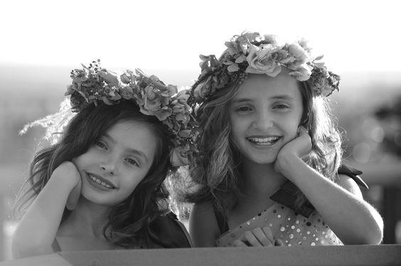 flower girls- for their hair