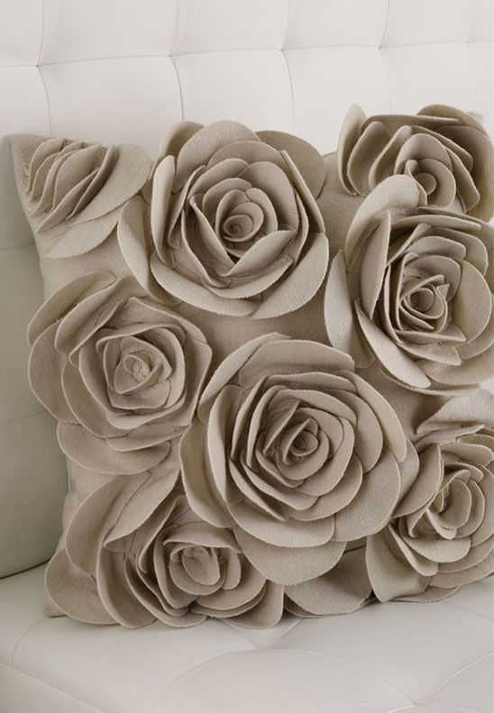Love it! Rose cushion: