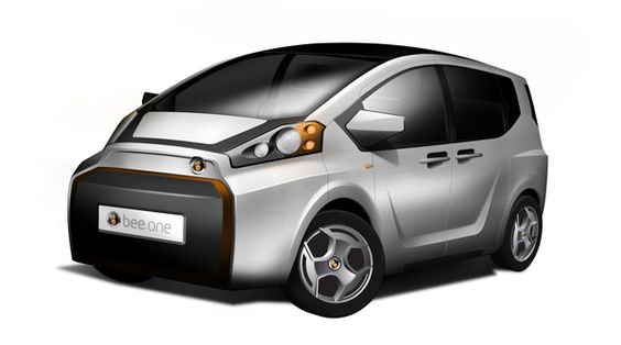 Bee One Electric City Car concept