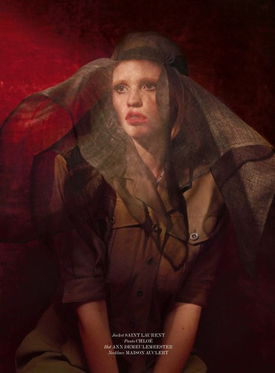 Lara Stone by Sean & Seng for 032c Magazine Summer 2014