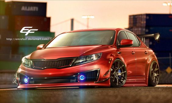 Kia Optima By Emrefast Kia Optima Pinterest Kia Optima