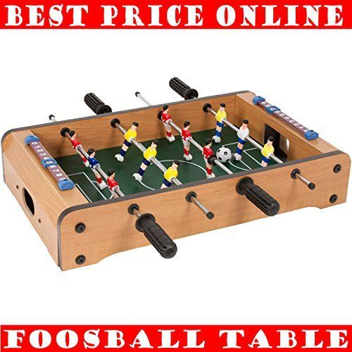 Table Soccer Board Game Foosball Game Room Mini Table