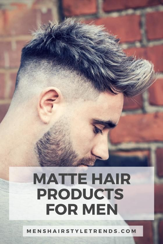 For A No Shine Finish Check Out These Matte Hair Products For Men Menshair M Check Finish Hair Matte M In 2020 Mens Hairstyles Cool Hairstyles Thin Hair Men