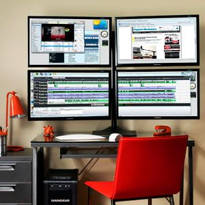 How To Set Up Multiple Monitors Count Videos And Offices