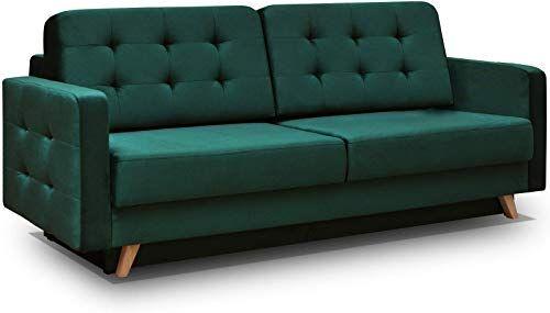 Amazing Offer On Vegas Futon Sofa Bed Queen Sleeper Storage Dark Green Online Futon Sofa Bed Sofa Sleeper Sofa