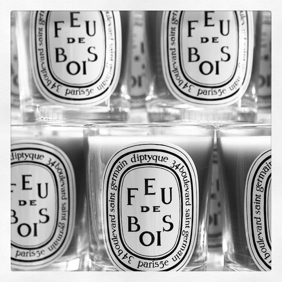 """""""#diptyque #bougies #candles #feudebois #woodfire"""""""