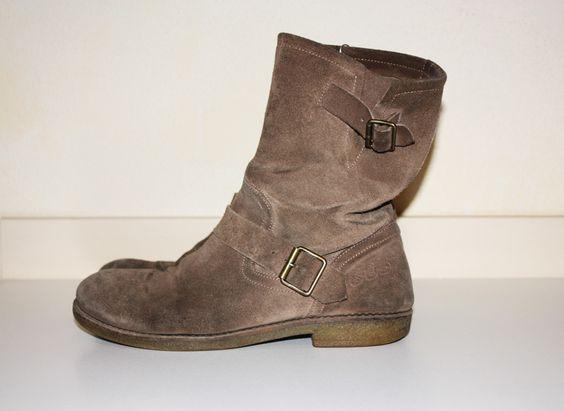 Stivali di camoscio