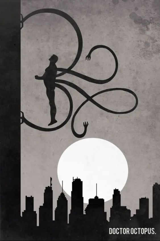 Superheroes Don't Use Elevator Doctor Octopus