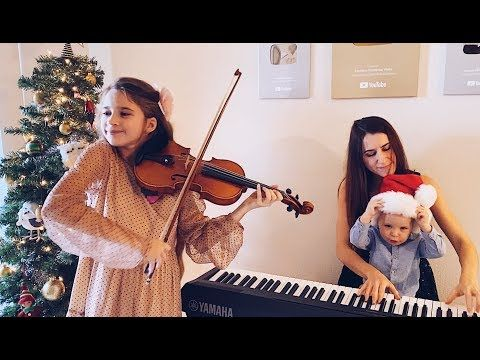 10 Year Old Violinist Performs Silent Night With Mother Brother In An Act That Ll Make You Cry Christmas Songs Youtube Violin Songs