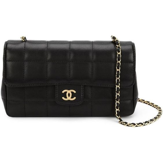 Chanel Vintage mini quilted crossbody bag (€3.830) ❤ liked on Polyvore featuring bags, handbags, shoulder bags, black, crossbody purse, chanel shoulder bag, crossbody handbags, black quilted handbag and crossbody shoulder bags