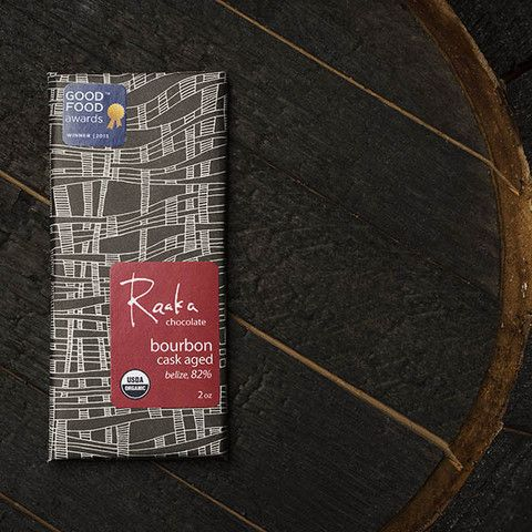 Bourbon Cask Aged (82% cacao):