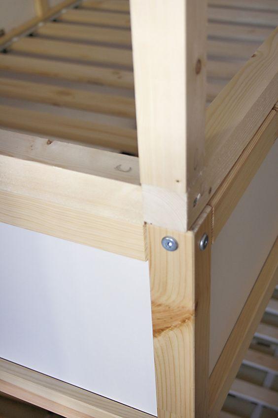 Ikea Kura Hack Step By Step Noah S Bedroom Pinterest