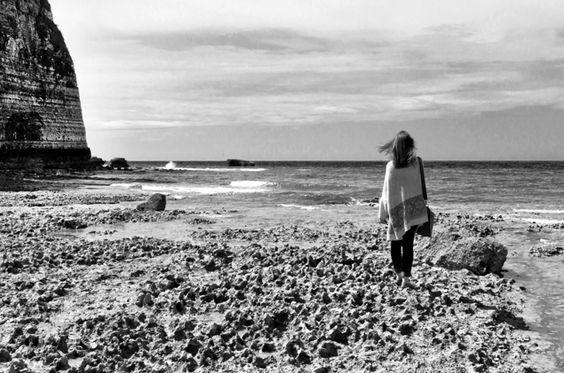 Face à la mer, réalisé à la pointe de la #baie d'#Yport