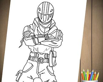 Fortnite Battle Royale Coloring Page For Birthday Party Coloring Pages Fortnite Kids Costumes