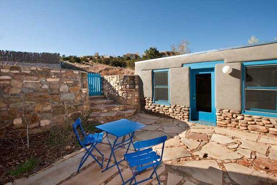 Mid-Century LA Meets Santa Fe Charm in this Studio Casita *Eco-Friendly, Santa Fe, New Mexico