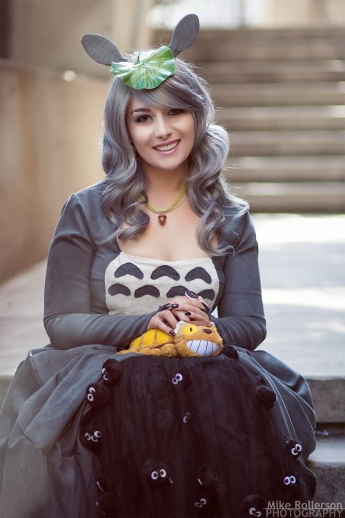 Totoro from My Neighbor Totoro Cosplayer: Dustbunny