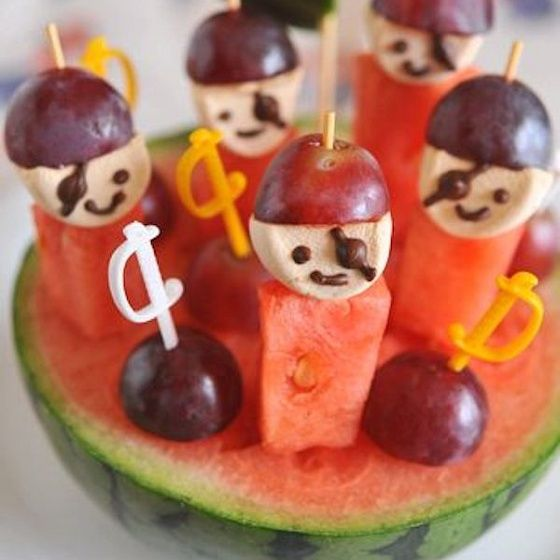 Pirate Party Foods, Pirate Party And Food Ideas On Pinterest