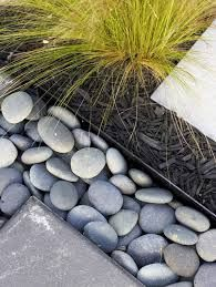 modern garden edging stones - Google Search