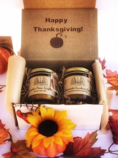 Happy Thanks Giving Candle Thanksgiving Gift Box Happy Thanks Giving for Gift Idea