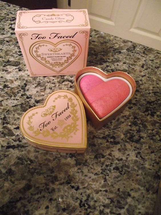 """Too Faced Sweethearts Perfect Flush Blush """"Candy Glow""""0.19 Oz., All Skin Types,"""