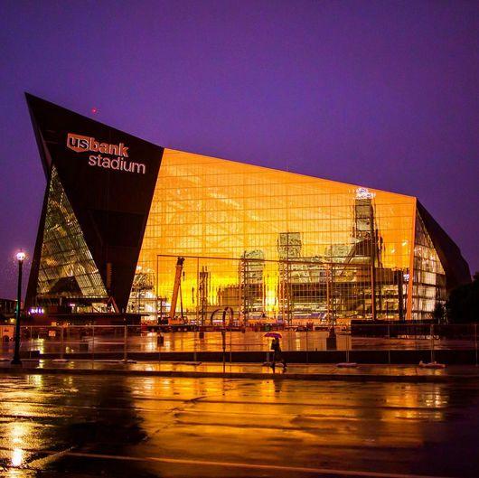 Last week the Minnesota Vikings officially opened the new US$1.1 Billion U.S. Bank Stadium in downtown Minneapolis.
