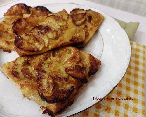 Mini tartes de maçã com canela - Sabores da minha cozinha