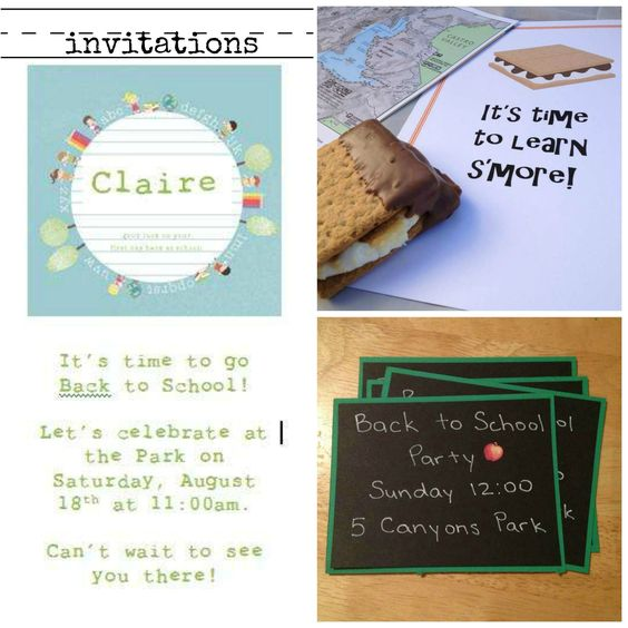 Back to School Party Ideas - www.ismycrazyshowing.com