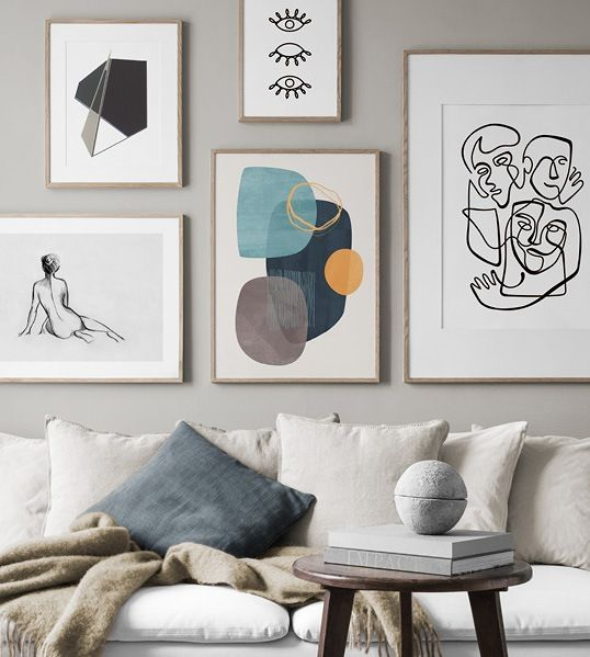 Wall Art With Scandinavian Design Art Pictures From Desenio Com