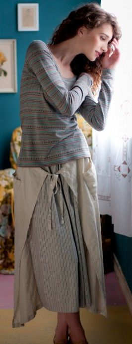 willow apron style skirt