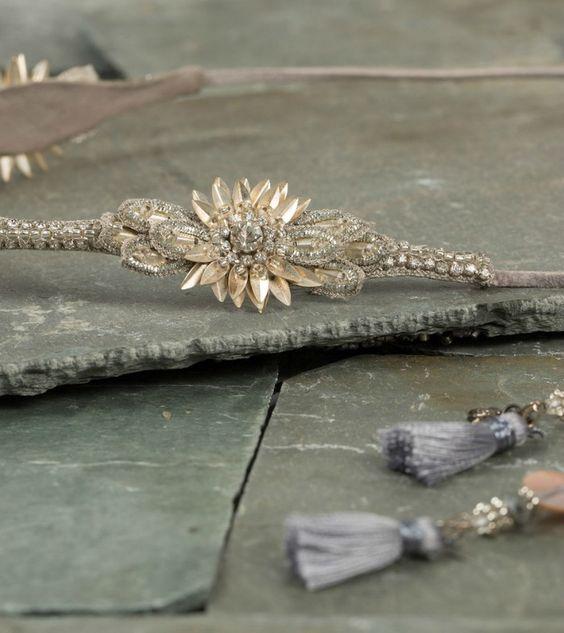 Deepa Gurnani Crystal Ethel Headband