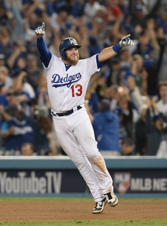 Max Muncys Walk Off Home Run Gives Dodgers Wild 18 Inning Win In Longest World Series Game Ever Dodgers Dodgers Win Mlb World Series