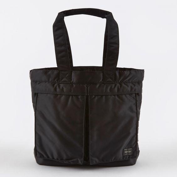 Porter - Yoshida & Co. Porter Yoshida & Co. Tanker Tote Bag - Black…