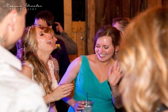 Wedding Bride Dancing Candid
