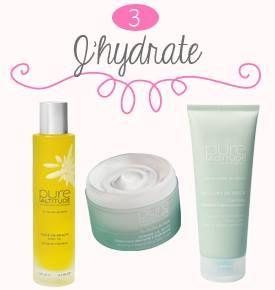 Pure Altitude Huile de Beauté / Comme la Neige / Velours de Neige : to soften and smooth my skin...